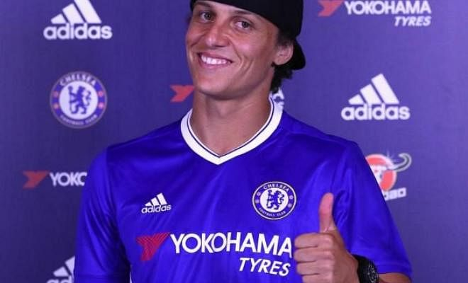 DAVID LUIZ IS OFFICIALLY A CHELSEA PLAYER AGAIN