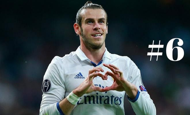 # 6 - Gareth Bale