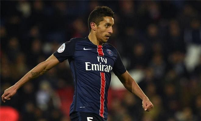 "MARQUINHOS WANTS PSG STAYBarcelona and Bayern target Marquinhos wants to sign a new contract at PSG. The Brazilian, 22, has established himself as a key-first team player at PSG after David Luiz's departure. ""I would like to stay here. This is my fourth year at PSG, I have  adapted to life here and I speak French,"" he told AS. ""In addition, my family feels good in Paris. Things are going well and I would love to  stay here, I hope to sign a [contract] renewal. It does not just depend on me, but also on whether my performances are good."""