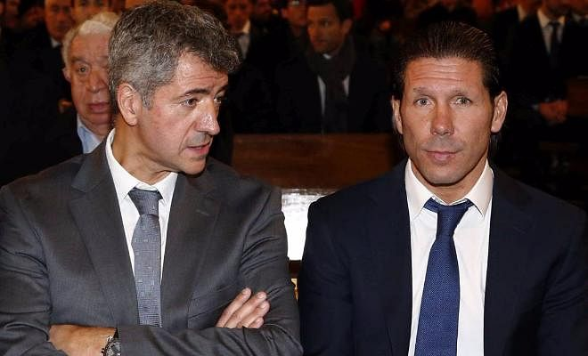 Simeone will stay with Atletico next seasonAtletico Madrid's chairman Miguel Angel Gil Marin has confirmed that Diego Simeone will at least honor his contract with the Rojiblancos. Cholo's contract runs until the end of the 2017-2018 season.