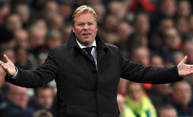 RONALD KOEMAN REACTS TO WENGER'S POST-MATCH COMMENTS