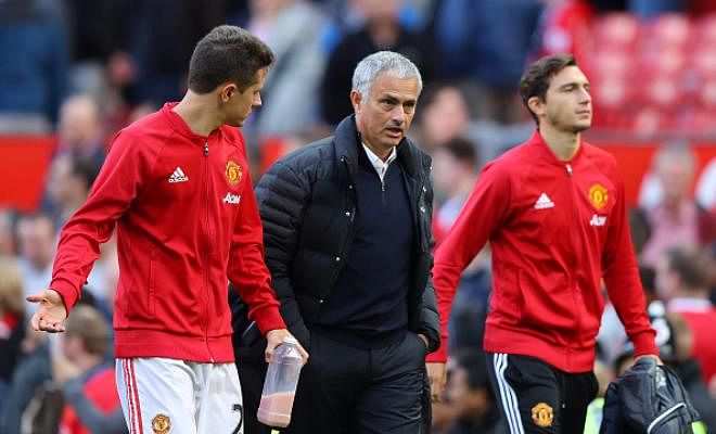 Ander Herrera is very happy with Jose Mourinho.Herrera has flourished in the holding midfield role as the 27-year-old has been a regular feature under Mourinho, scoring once in eight appearances in all competitions this season.