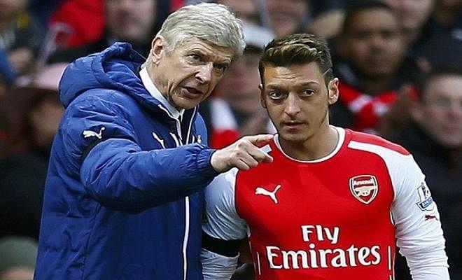 ARSENE WENGER SAYS THAT OZIL NOW HAS THE TASTE FOR GOALSThe Arsenal manager said
