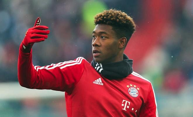 OFFICIAL: DAVID ALABA HAS BEEN NAMED AUSTRIA'S FOOTBALLER OF THE YEAR FOR THE SIXTH CONSECUTIVE YEAR. CONGRATULATIONS!