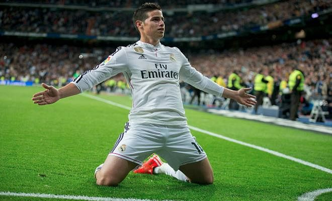 JAMES RODRIGUEZ POISED FOR PREMIER LEAGUE MOVE?Real Madrid forward James Rodriguez has been spotted at the British Embassy in Colombia ahead of potential move to Chelsea or Manchester United. The Premier League clubs are on red alert with Rodriguez being offered to sides after Zinedine Zidane toldthe Real Madrid outcast he can leave.