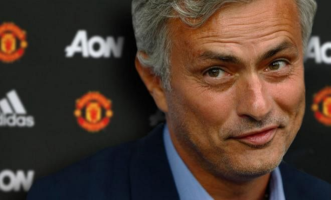 """JOSE MOURINHO SET TO BE OFFERED A NEW CONTRACT!Manchester United are considering a move to extend Jose Mourinho's contract already, according to The Guardian. The former Chelsea boss signed a three-year deal when he joined United last summer, but Old Trafford officials have reportedly been left """"delighted"""" by the start he's made and it could lead to fresh terms on a longer contract."""