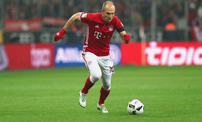 BAYERN CONFIDENT ON ROBBEN EXTENSIONBayern Munich chief executive Karl-Heinz Rummenigge expects Arjen Robben to extend his contract with the club. The 32-year-old is yet to extend his deal which expires at the end of the season.