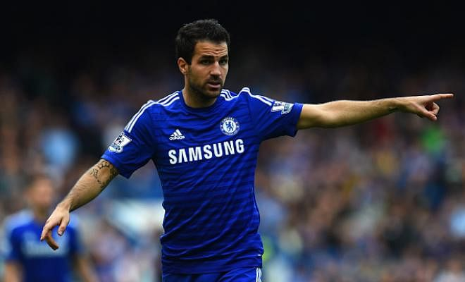 WEST HAM TO SIGN FABREGAS?Fabregas is a loan target for West Ham United this January. He has played only 87 minutes for Chelsea in the league this season.