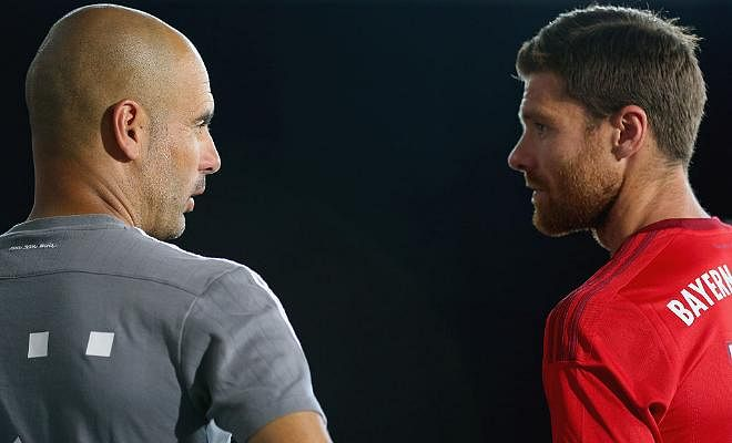 ALONSO SAYS GUARDIOLA HAS DONE AN AMAZING JOB AT MAN CITYThe Bayern Munich midfielder has lauded his former manager's start with the Citizens, having led the club to 10 wins from their opening 10 fixtures under his stewardship