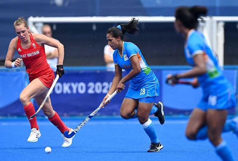 India vs Great Britain women's hockey bronze medal match LIVE scores, commentary & updates