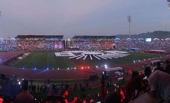 Wish you could feel the atmosphere at the stadium! It is absolutely insane.