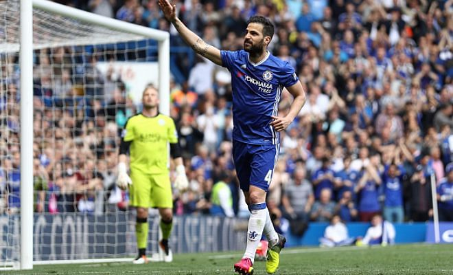 Fabregas offered to Juventus!Chelsea manager Antonio Conte is not too happy with Fabregas and the Spaniard is offered to Juventus for a fee of 45 million Euros! Is he worth the money?