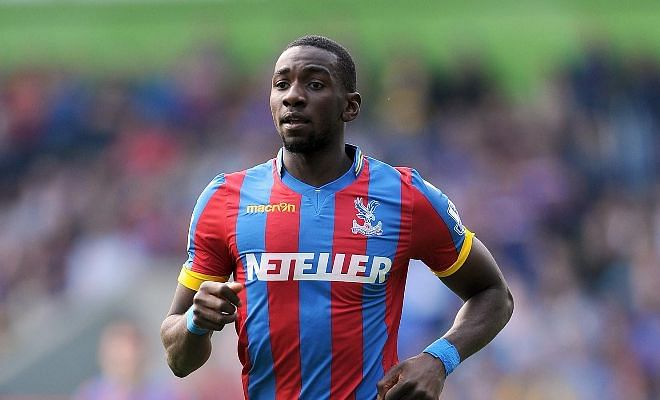 Everton get their man!Yannick Bolasie bade farewell to his teammates at Crystal Palace and travelled to Merseyside yesterday to complete a club-record move to Everton. A deal of £25 million has been agreed, along with clauses that could take it as high as £30 million, making him Palace's biggest sale ever.