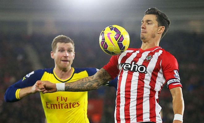 Gunners join the race along with rivalsESPN report that Saints skipper Jose Fonte is a possible target for Arsenal. The North London are far from Mustafi's £30 million valuation and are reportedly eyeing up the Euro 2016 winner as a cheaper option for £8million.