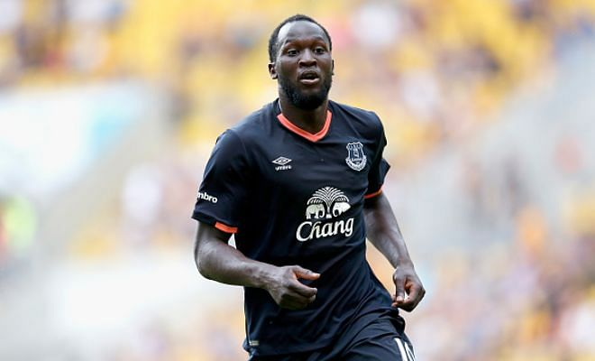 £75 million or nothing! Everton have apparently told Chelsea that they must cough out £75 million if they want to buy back striker Romelu Lukaku. Too many clubs splashing cash I'd say?