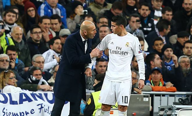 James to Chelsea?Spanish newspaper Sport report that Real president Florentino Perez is keen to keep that Colombian midfielder James Rodriguez at Madrid.However, James wants regular football and reports suggest that Chelsea have already met with his agent to convey their interest.