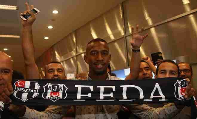 ANDERSON TO SIGN FOR BESKITASAnderson Talisca has arrived in Istanbul to join Beskitas on a one-year loan from Portuguese club Benfica. Anderson was previously a target for Liverpool and Manchester United.