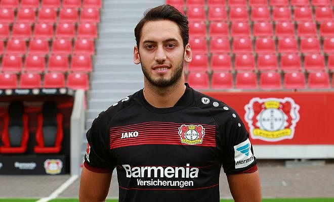 Spurs interested in Hakan Calhanoglu!!The Bayer Leverkusen midfielder's agent has claimed that Spurs have made an approach for the 22 year old.  Calhanoglu has also been linked with Atletico madrid.