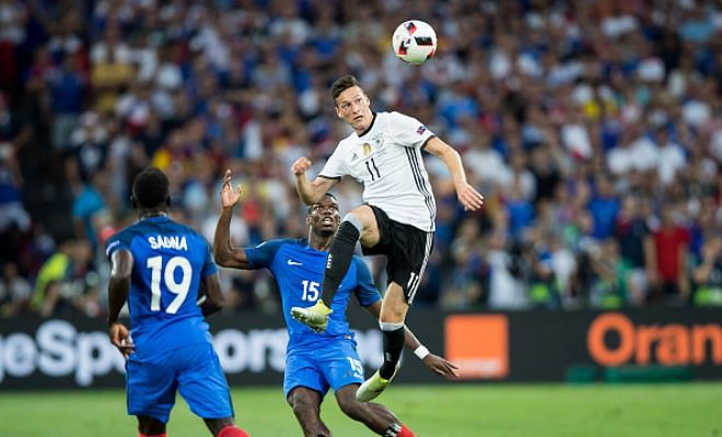 Drooling over Draxler?!Everton are madly in pursuit of the Germany midfielder Julian Draxler and according to The Independent, are willing to step up and meet Wolfsburg's £63 million release clause.Everton is surely putting their money from the TV rights in the right place. But would Draxler agree to joining Everton?