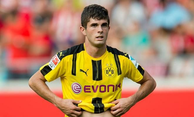 DORTMUND REJECT BID FROM KLOPPBorussia Dortmund has rejected a €12 million bid from Liverpool for midfielder Christian Pulisic. The American was one of the few youngsters who developed under former boss Jurgen Klopp and now remains a vital player for Dortmund.