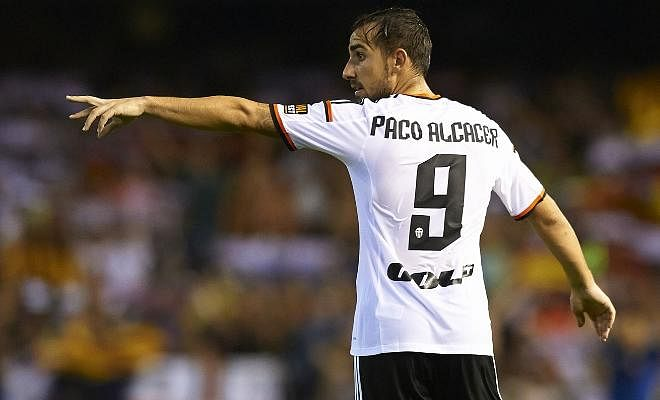BARCELONA CLOSE IN ON ALCACERPaco Alcacer has passed his medical at Barcelona ahead of completing his move to Camp Nou from Valencia. The 22-year-old will now finalise his move and is set to sign a five-year deal with the Blaugranas.
