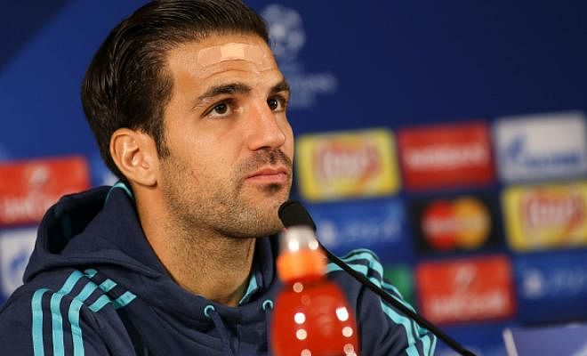FABREGAS STILL FEELS FABULOUS AT CHELSEACesc Fabregas says he is committed to Chelsea and has denied any rift with Antonio Conte. Fabregas hasn't started a single Premier League match yet, only being used as a substitute once.