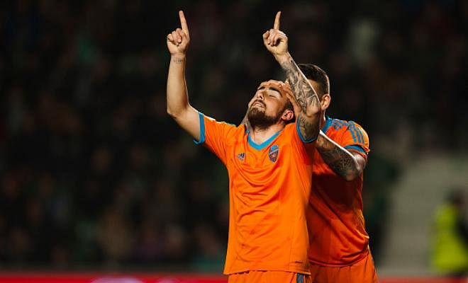 ALCACER IN BARCELONA FOR A MEDICALBarcelona is close to signing the Valencia striker Paco Alcacer. According to Barcelona-based newspaper Mundo Deportivo, Alcacer will sign a five-year contract at a fee of £25.6m.