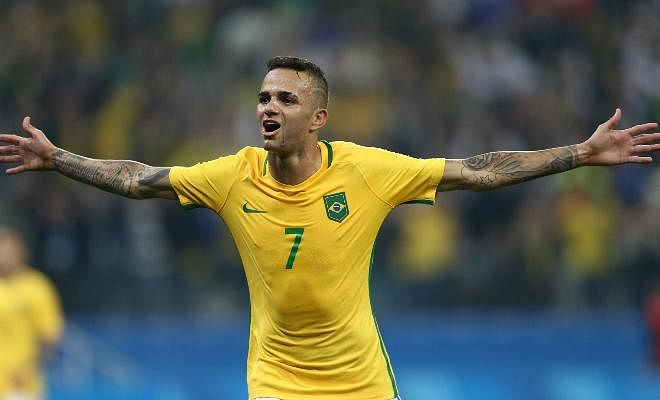 REDS WANT OLYMPICS STARLETLiverpool have reportedly made a £30 million offer for Gremio's Luan, according to reports from Brazilian media. The midfielder was one of the important stars to feature in the latest Olympics as Brazil clinched Gold.