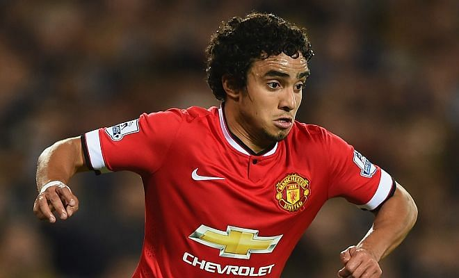 Manchester United right-back Rafael is on his way to French side Lyon. [Daily Star]
