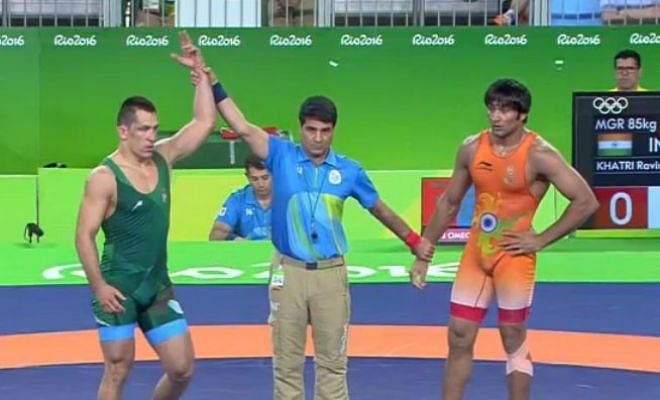 Ravinder was the second-best wrestler in this bout!