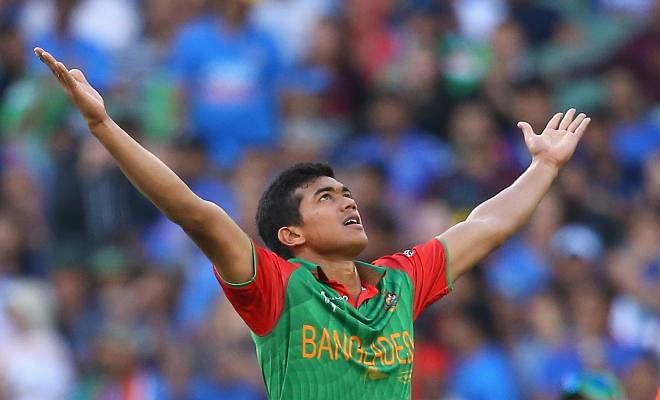 Taskin Ahmed has been cleared to bowl by the ICC