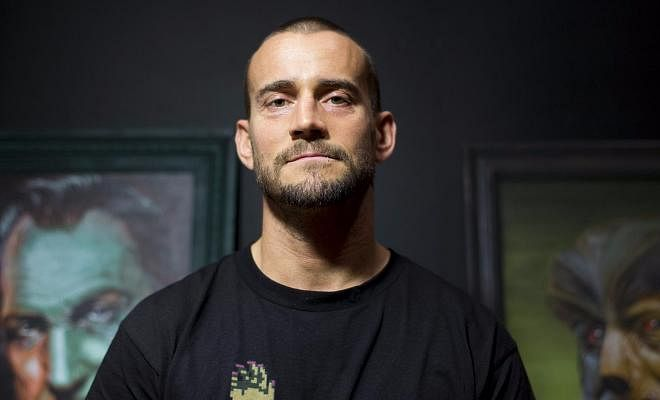 CM Punk returned to the room where he held his last meeting with Vince McMahon and Triple H.