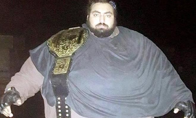 WWE sign Pakistani wrestler:Khizar Hayat, recently proclaimed as the strongest man in the world by Guinness Book of World Records in 2015, is set to join the WWE roster next year. The 24 year old wrestler lives in Mardan, Pakistan and can apparently lift a man up in the air with just one hand. Khizar weighs about 436 Kgs and consumes about 10,000 calories in a day including 5 liters of milk and 3 kilos of meat and vegetables in his daily diet. His weight reportedly hinders his movement and he feels hot even when the temperature isn't that high. Expect to see the wrestler represent Pakistan in WWE next year.