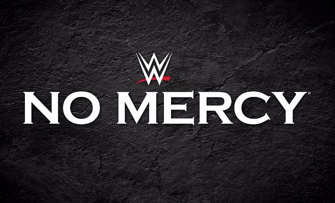 WWE No Mercy is scheduled for 9th October, 2016