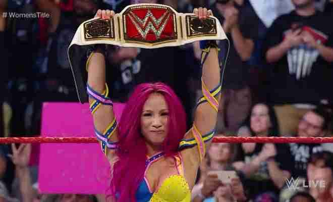 Former WWE Women's Champion Sasha Banks