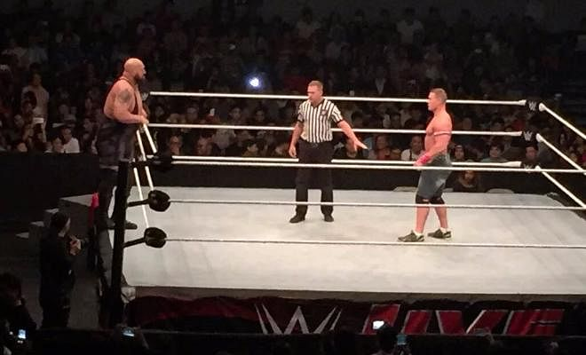 Here is a fan grabbed picture of the live event.