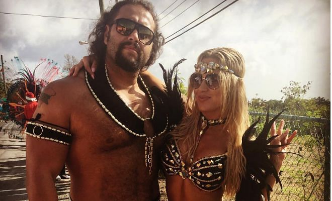 Lana with Rusev