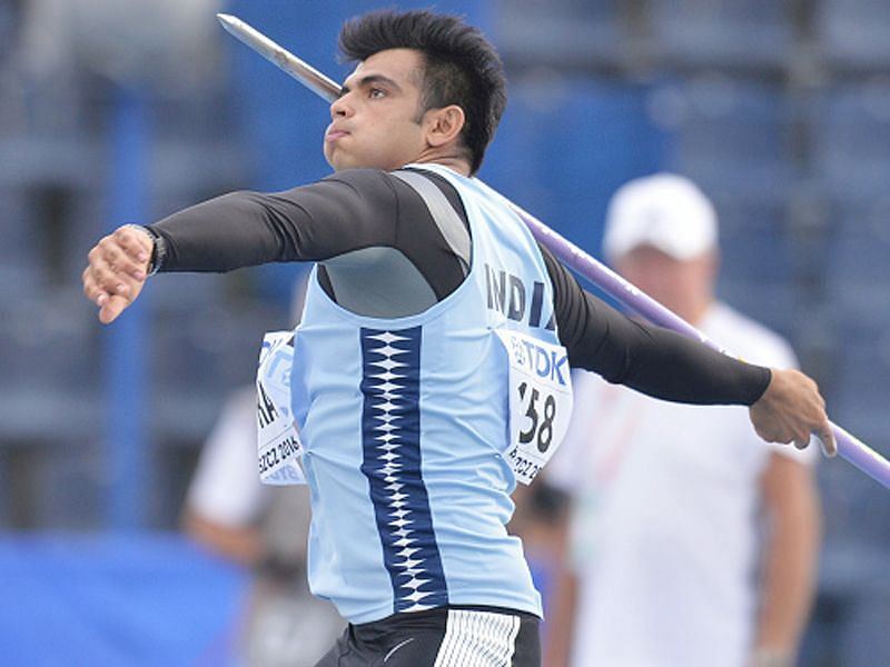 Chopra recently won gold at the Asian Athletic Championships