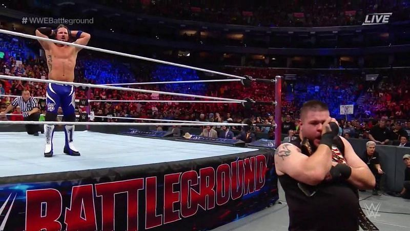 Was AJ Styles never supposed to drop the championship?