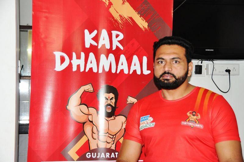 Manpreet Singh, coach of the Gujarat team