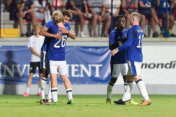 MFK Ruzomberok v Everton: UEFA Europa League Qualifier : News Photo