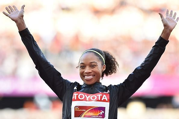 Allyson Felix now holds the record for the most World Championship medals