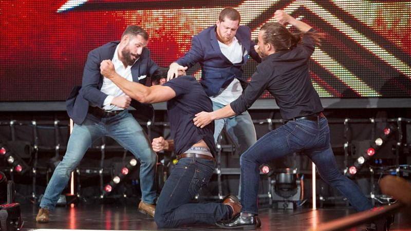 The ROH gang is running wild