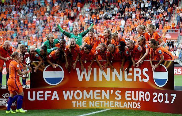 Netherlands v Denmark - UEFA Women
