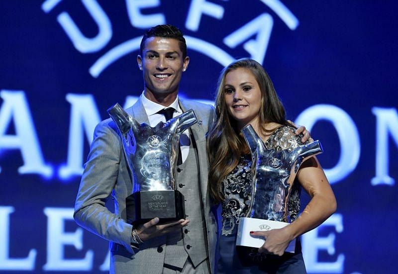 Cristiano Ronaldo and Lieke Martens