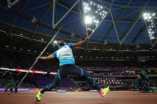 Kang became the first Indian to qualify for the finals a javelin throw event at the World Championships