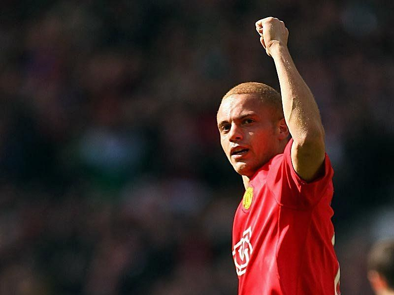 Wes Brown won five Premier League titles at Manchester United