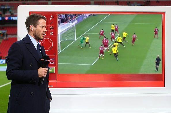Jamie Redknapp pundit Liverpool defence