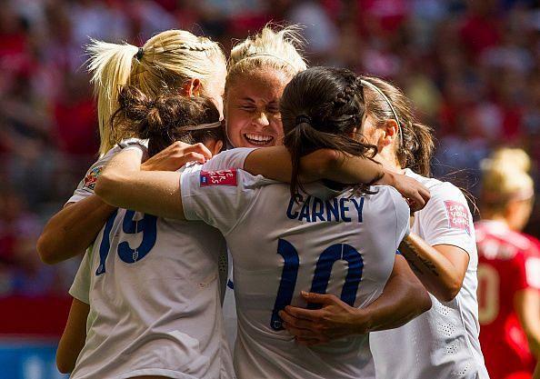 England v Canada Quarter Final - FIFA Women