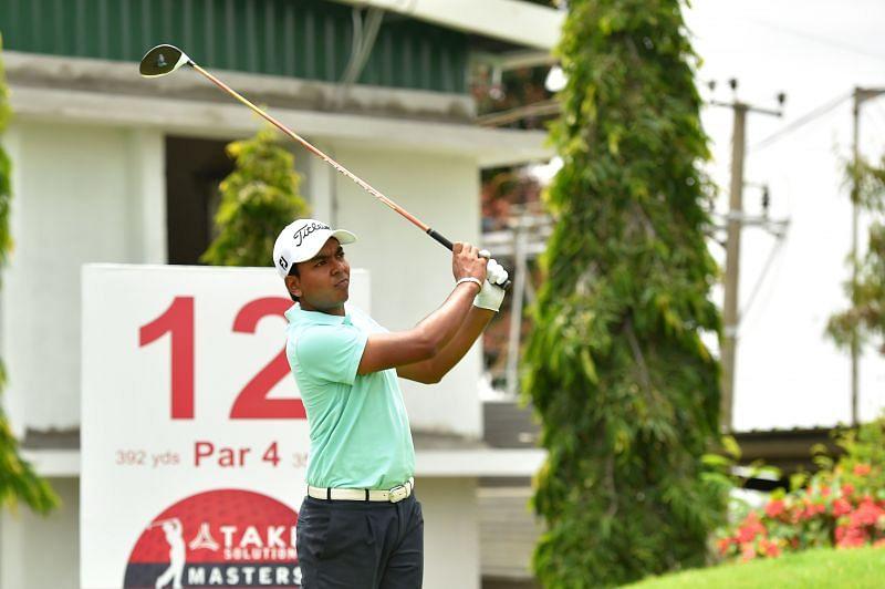 Divyanshu Bajaj put together a solid first round